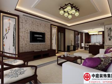 四房二厅中式装修方案分析