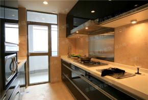 港式 现代 混搭 三居 小资 厨房图片来自幸福魔方装饰公司在【中华名园】港式与现代的混搭的分享