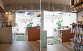 日式 小清新 工业风 厨房图片来自玉玲珑装饰在日式小清新轻工业风公寓的分享