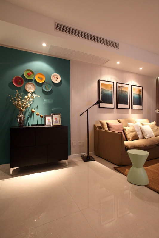亮丽的色彩似乎都有魔力,总能带来别样的心情享受。假如客厅多一点色彩,为家注入更多活力。