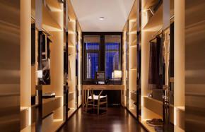 禅意 中式 极简 衣帽间图片来自张勇高级室内设计师在泛海国际新中式极简禅意中国案例的分享