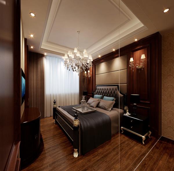 生活家装饰--金地仰山小区135平米欧式新奢华风格卧室装修效果图