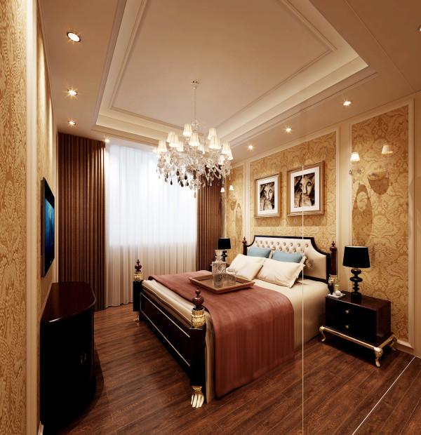 生活家装饰--金地仰山小区135平米欧式新奢华风格客卧装修效果图
