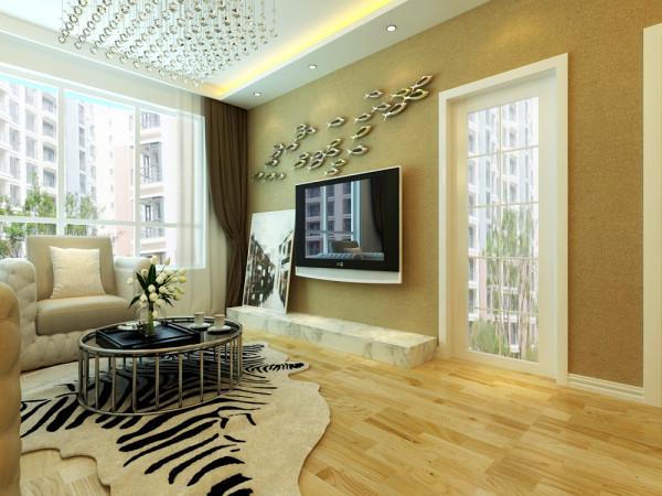 本案设计建议客厅以地板为主.门厅棚面以方圆相结合的曲线棚面设计,个性化的客厅以直线棚与极简的餐厅造型棚融合为一体,客厅的电视墙面以米黄色系的壁为主体色,让你感觉整体有一股浓浓的港式风。