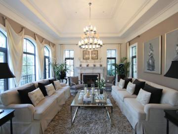 140平米4居室装修-美式风格