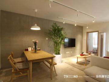 简约日式风格旧房改造!