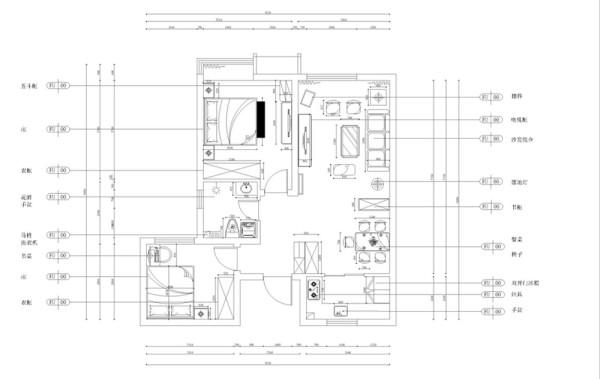 首先进入入户门按顺时针走的左手边是次卧的位置,接下来是卫生间的位置,在往里走是一间空间明亮并且空间较大的主卧,与主卧一墙之隔是客餐厅,客厅和餐厅相连呈现一个长方形,最后是厨房的位置。