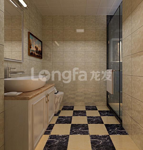 卫生间:淋浴隔断女主很喜欢。