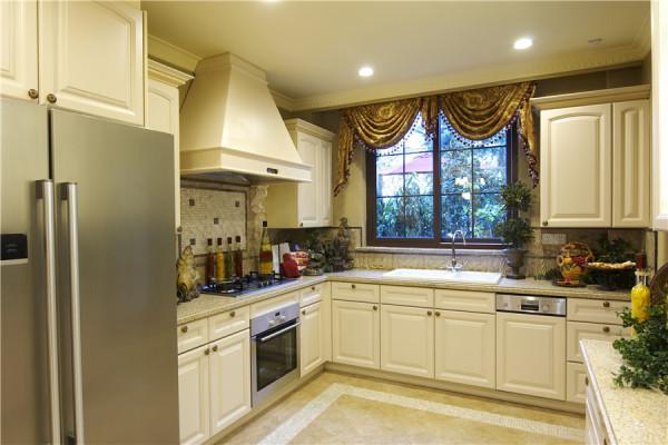 厨房图片来自别墅装修设计yan在美式风格金地中央世家的分享