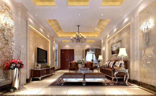 客厅,整体感觉不光是豪华大气,更多的是惬意和浪漫。通过完美的典线,精益求精的细节处理,带给您不尽的舒服触感。