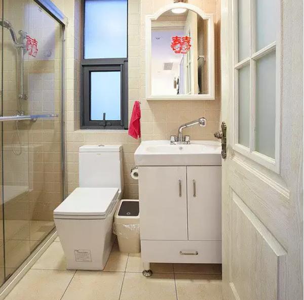 地中海裝修舊房改造老房翻新70平裝修80平設計風衛生間