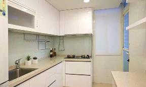 混搭 小清新 二居 厨房图片来自成都丰立装饰工程公司在80平清新小家,怡然自乐的分享