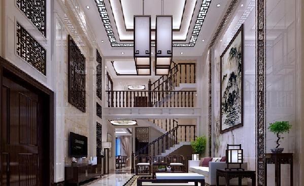 新中式的风格,将现代与传统风格相结合,营造一种更人性化的居住环境。