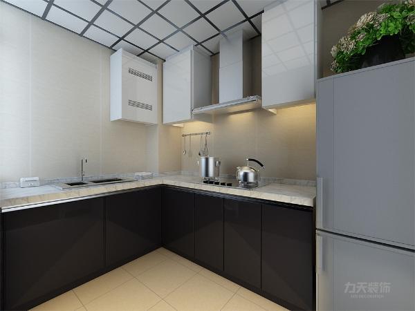 本案为天津荣雅园一室一厅一厨一卫60㎡户型,虑到业主经常会将工作带回家,所以最终确定方案为现代风格。