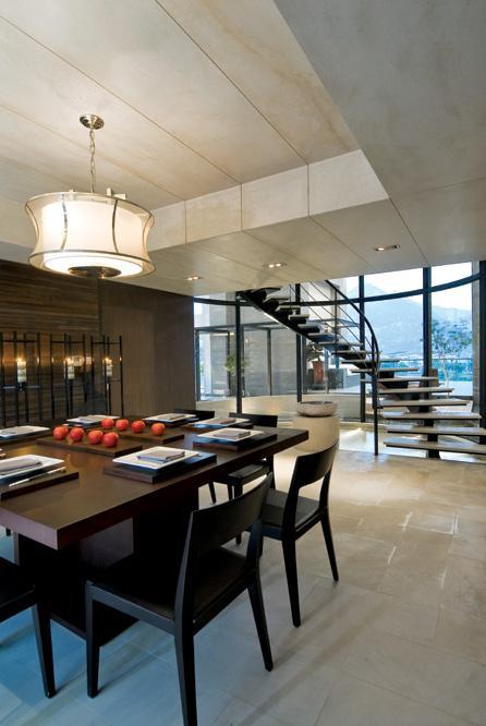 餐厅的设计也很简单,整体看起来大方、美观。