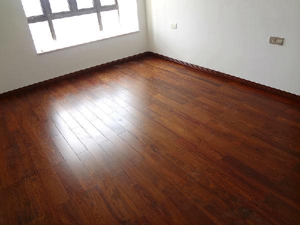 竣工阶段,木地板!