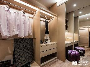 小资 中式 衣帽间图片来自米兰大宅设计会所在淡雅中式的分享