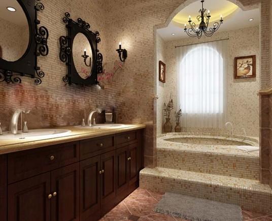 干湿分区不仅可以提高卫浴空间的使用效率,还可以有针对性的对两个的空间进行更加细化的装饰。或浪漫,或奢华,或简约,更多的空间分区在装饰上拥有更多选择性。