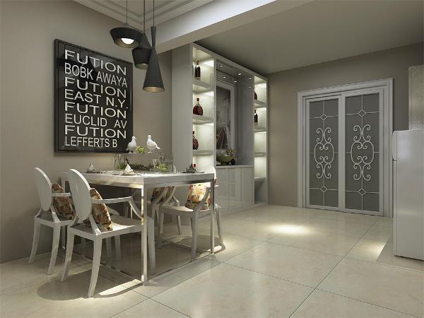"""""""现代简约风格""""以其明亮,简洁的色彩与现代化的材质与工艺相结合,故赢得人们对它的喜爱。本案为金泰丽湾两室两厅一厨一卫105平的户型。在整体平面布局上强调空间的自然融合。"""