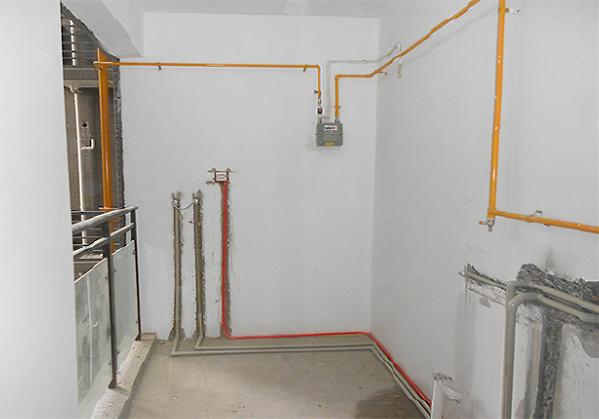 水电改造采用德系工艺,线路平直,规整