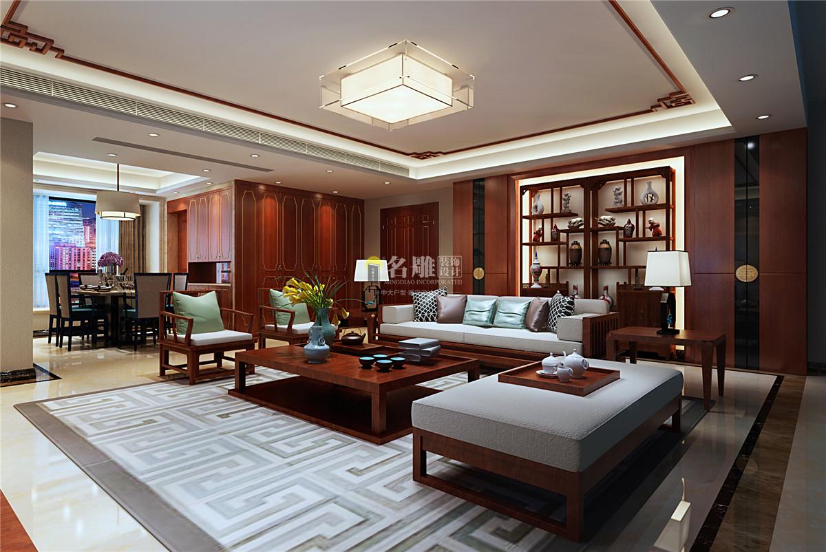 客厅平板木饰面搭配花纹大理石砖,大面积铺贴富有肌理图片