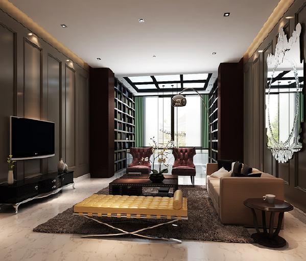 上海别墅装修现代风格设计方案展示,上海腾龙别墅设计师周峻作品,欢迎品鉴!
