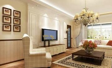 欧式100平米两室两厅装修