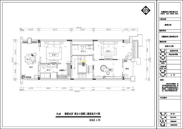 御景水岸500平别墅现代时尚装修设计方案图