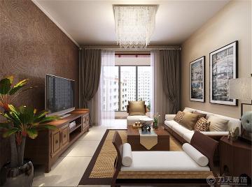 津铁惠苑 - 两居室 - 东南亚风格