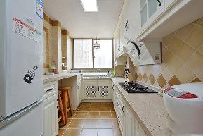 小清新 三居 小资 厨房图片来自北京合建高东雪在95平现代小清新的分享