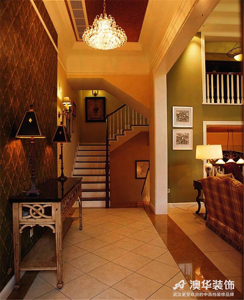 别墅 楼梯图片来自澳华会所-杨敏在宁静的奢华的分享