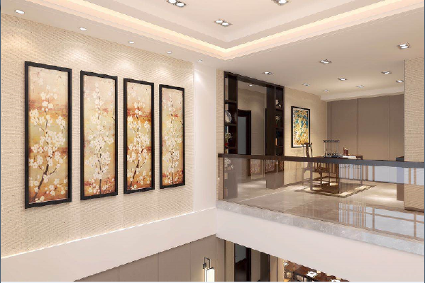 永威东棠240平复式楼二楼修效果图