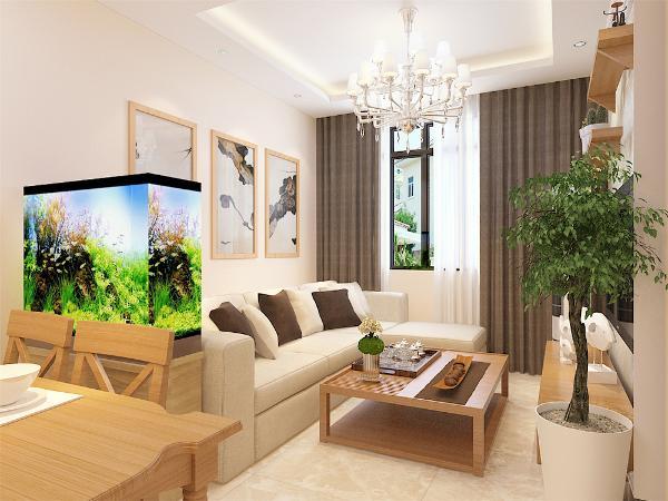 本案例为合景家园,现代简约风格两室一厅一厨一卫,97平米的户型,简约不等于简单,真正的简约设计不仅是设计元素的精简,