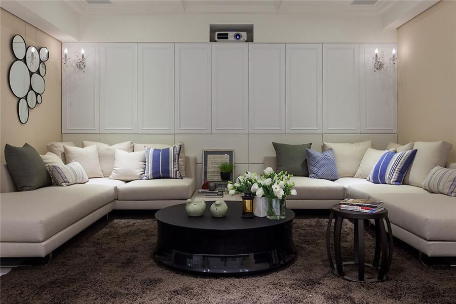 装修过3次才知道,客厅背景墙用瓷砖斜铺最上档次!