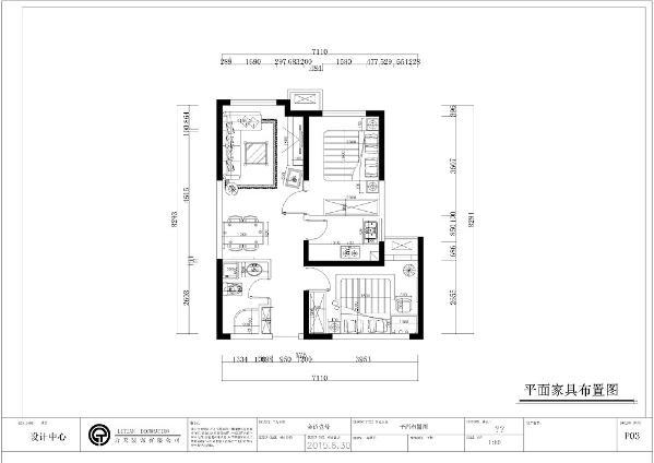 从布局上看入户为玄关的位置,在其左边为卫生间,右边为次卧室,客厅位于空间的正中间的位置,餐厅位置为于最左边,餐厅于厨房相邻,主卧位于最右边。