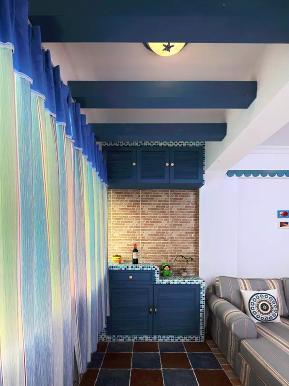 地中海 二居 白领 收纳 旧房改造 小资 阳台图片来自沙漠雪雨在100平米浪漫地中海幸福美家的分享