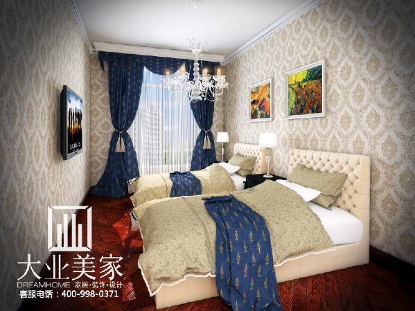 天地湾139平欧式简约卧室装修效果图