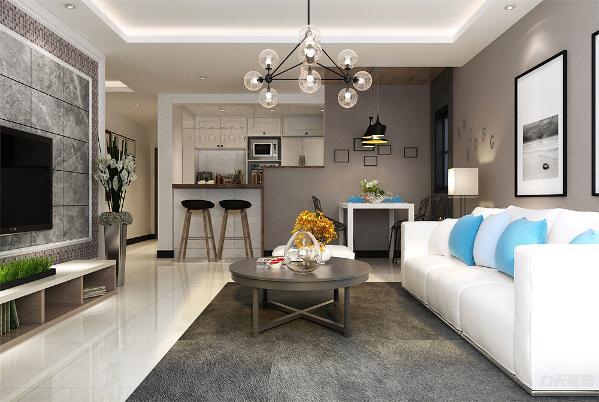一般室内墙地面及顶棚和家具陈设,乃至灯具器皿等均以简洁的造型、纯洁的质地、精细的工艺为其特征。尽可能不用装饰和取消多余的东西,强调形式应更多地服务于功能。