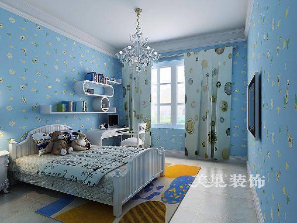 儿童房的设计,挺有爱意吧!
