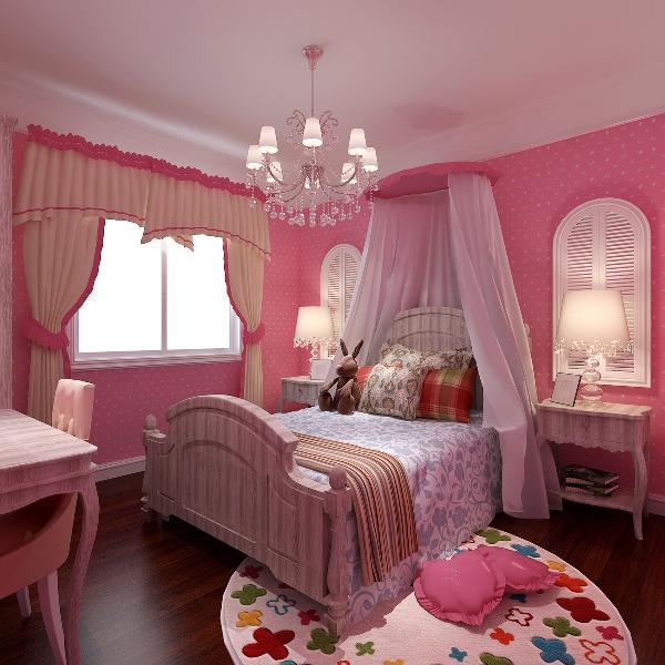 万年花城(88平米)两居户型的惬意与浪漫---儿童房效果图