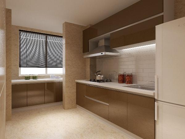 京铁家园(116平米)中式风格的内涵---厨房效果图