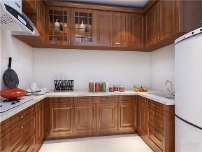 新古典 一室 收纳 小资 80后 橱柜 灶台 厨房图片来自阳光放扉er在力天装饰-昆仑中心86㎡的分享