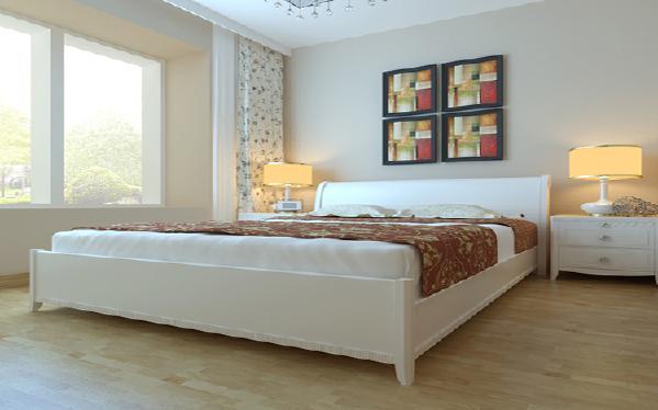 卧室现代简约新房效果图