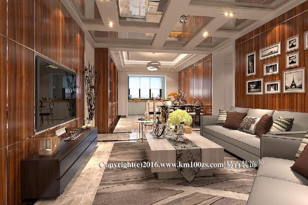 讲究自然简洁的明快感,原木家具使家中充满休闲自然的味道,而客厅开放式的格局又给人大气之感,自然简洁与大气不羁的完美融合。总体来说,整个居室空间简洁、休闲而有品味。