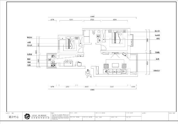 从入户门进入,映入眼帘的是玄关,往前右边是客厅区域,更加方便。左边是厨房,客厅带阳台设计,采光好、观景、生活。