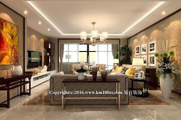 中洲阳光新中式风格-春华