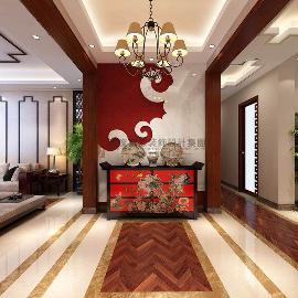 龙湖春江彼岸-198平方新中式风格