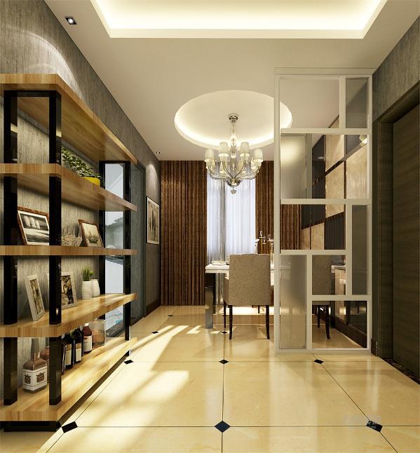 现代简约风格金地艺境97.61平米,两室两厅一厨一卫的户型简约不等于简单,真正的简约设计不仅是设计元素的精简,也要符合了人们减轻周围压力,崇尚环保的要求,要在简单的装饰中表现出更深的韵味。