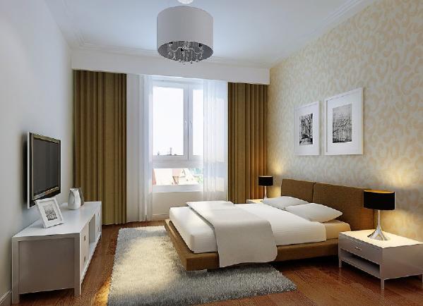 然而,卧室的设计并非一定由多姿多彩的色调和层出不穷的造型来营造气氛。大方简洁、清逸淡雅而又极富现代感的简约主义已经越来越受到人们的欣赏和喜爱了。