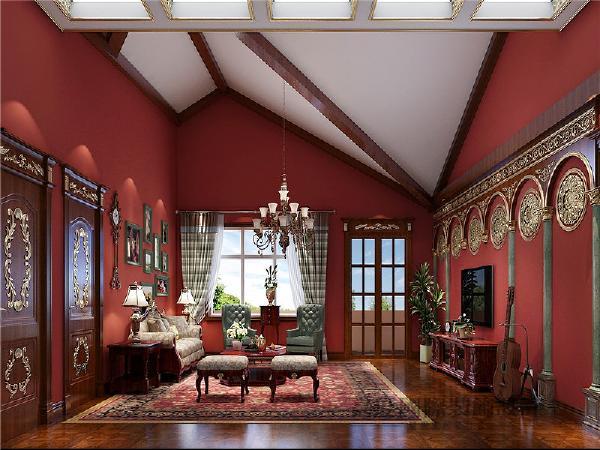 三层起居室
